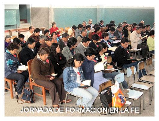 JORNADA DE FORMACION EN LA FE