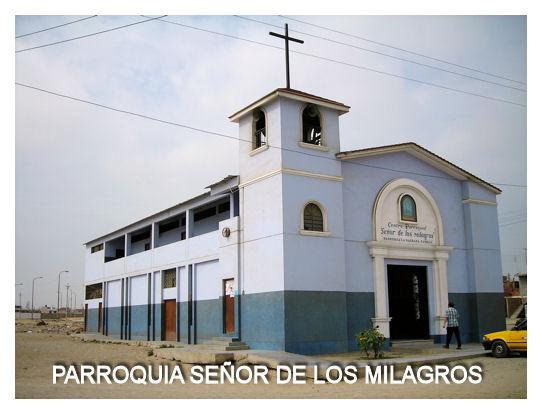 PARROQUAI SEÑOR DE LOS MILAGROS