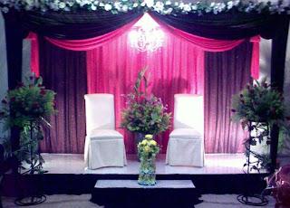 ZARA CREATIONS   DECORATIONS , receptions, table decorations, Pelamin PENGANTIN