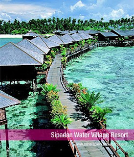 Sipadan Water Village Resort | Honeymoon resorts, hotels, wedding, vacations, malam pertama