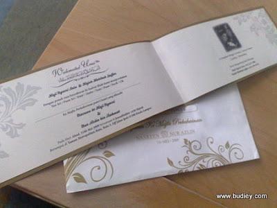 Gambar Kad Kahwin Darling Nasreen Ngasri   Kad Kahwin   Wedding Card   kad undangan   kad jemputan   kad kahwin indonesia   kad kawin