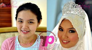 Jurumekap Pengantin | Jurusolek  Perkahwinan | Wedding Make up Artist | Andaman dan solekan awin seindahwajah