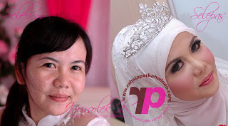 Jurumekap Pengantin | Jurusolek  Perkahwinan | Wedding Make up Artist | Andaman dan solekan awin seindahwajah