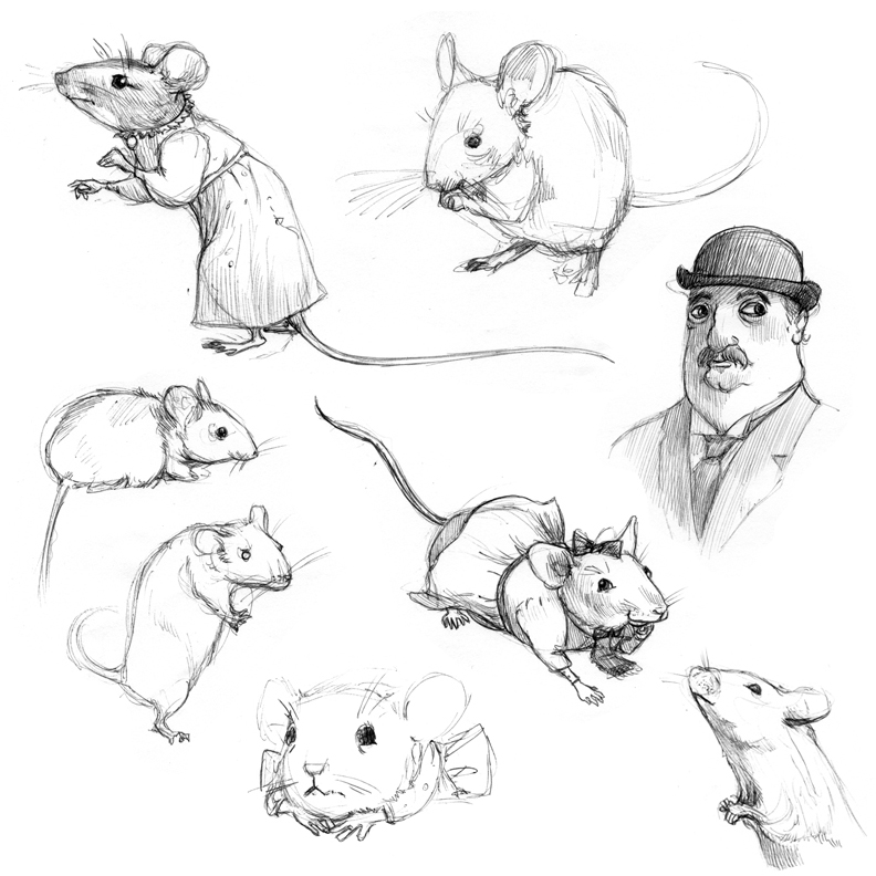 Did you drink my beer october 2010 for How do you draw a mouse