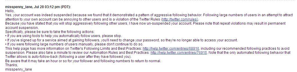 suspend twitter