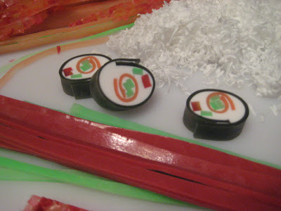 How to Make Melt & Pour Sushi Soap Log