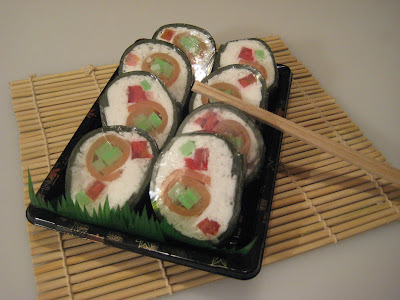 Sushi Soap Rolls