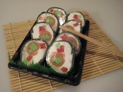 Sushi Soap Rolls