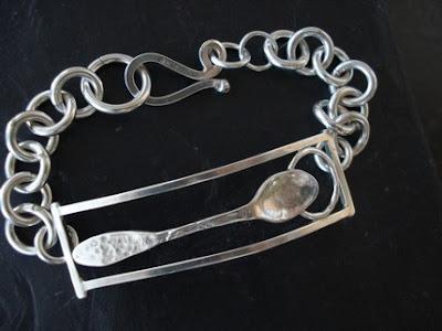Spoon Bracelet from Etsy