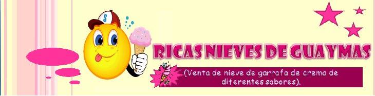 RICAS NIEVES DE GUAYMAS