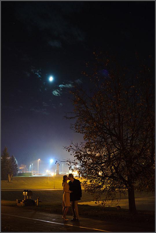 romantiška vestuvinė fotosesija mieste