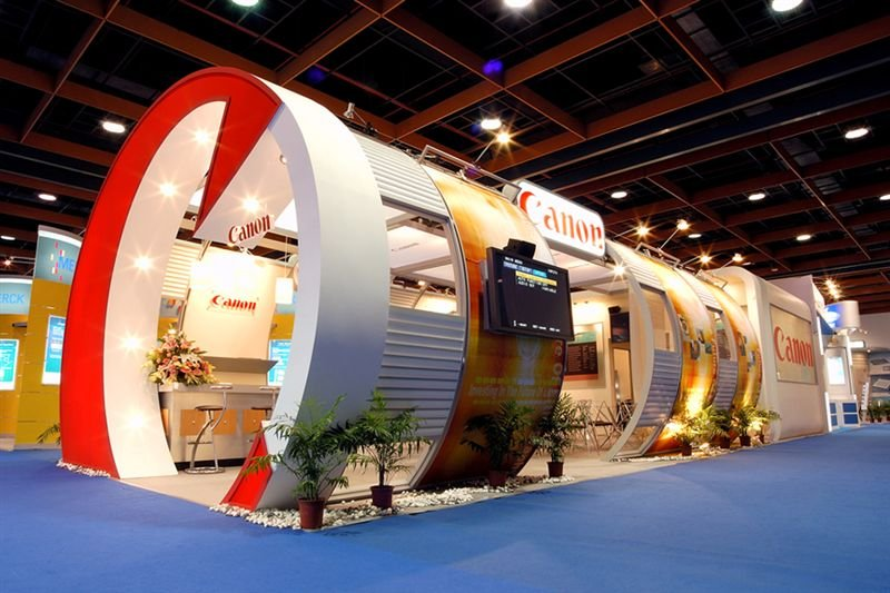 environmental design also can be apply on the promotion of the booth