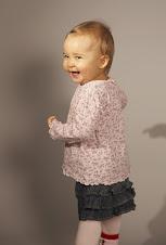 Emilia 1 år, november 2007