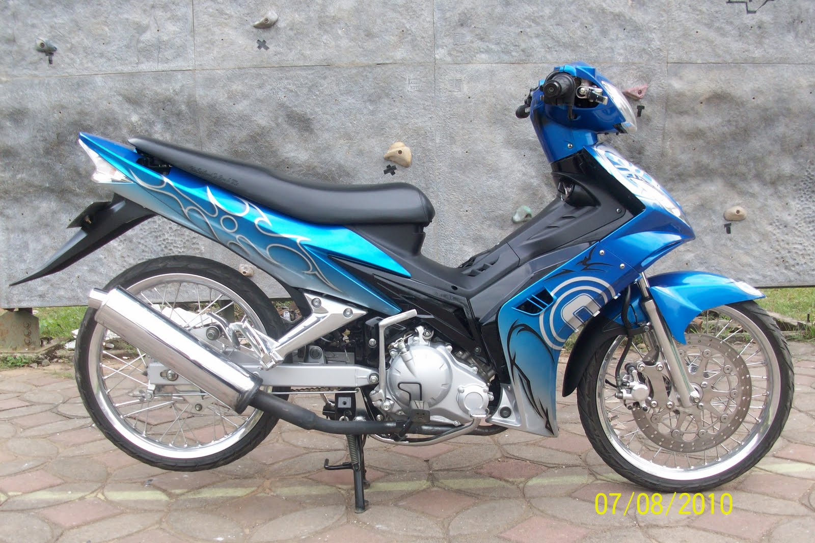 Modifikasi Motor Jupiter Mx Thn 2013