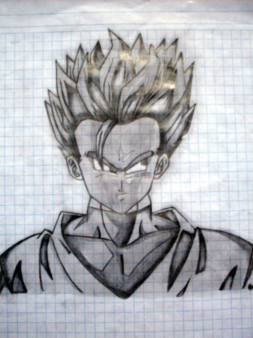 dibujos a lapiz de dragon ballz - Taringa!