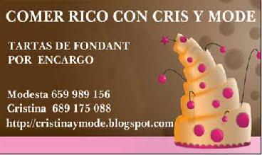 COMER RICO CON CRIS Y MODE