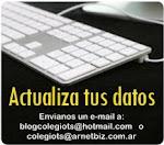 Actualiza tus datos