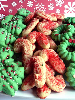 Baked Perfection Christmas Cream Cheese Spritz Cookies