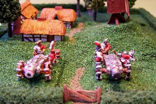 Games, workshop, cannon, artillery, empire, warmaster, warhammer, painted