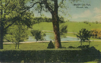 Monett City Park - Post Card