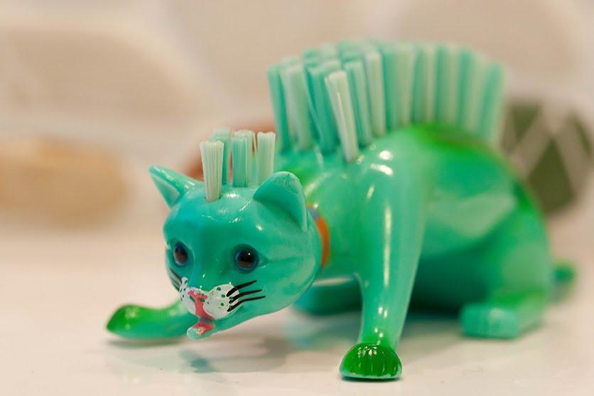 la p che la baleine chat lle de bain