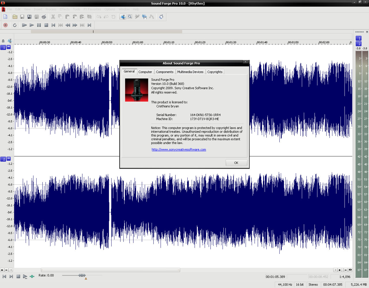 programas para el PC. Sony-Sound-Forge-Pro-10.0-22