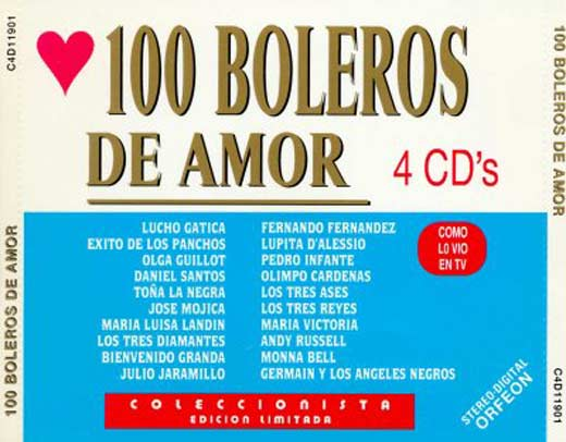 100 mejores canciones de amor: