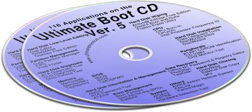 Ultimate Boot CD v5.0.2 - Diagnostico y Recuperación