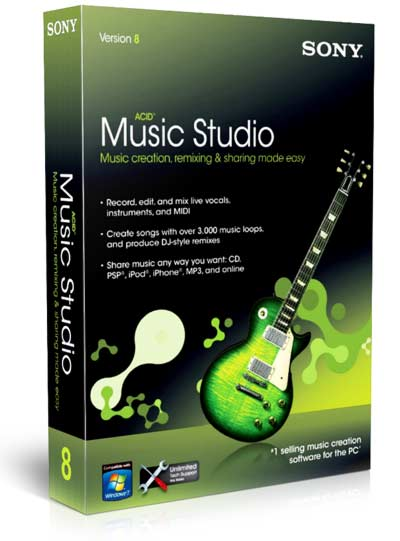 Sony ACID Music Studio 8.0 Build 178 (Multilenguaje)