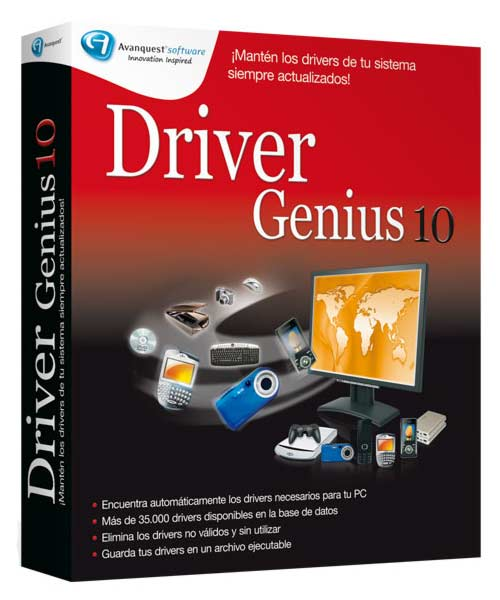 Driver Genius Pro v10.0.0.526 Retail (Multilenguaje)