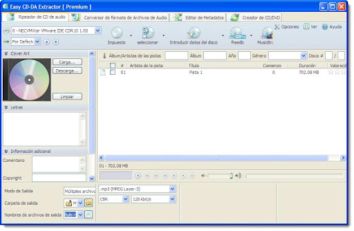 Easy CD-DA Extractor 2010 Premium v2010.5 (Multilenguaje)