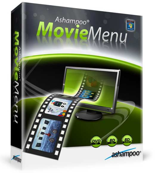 Ashampoo Movie Menu v1.0 (Beta) - Menus para películas
