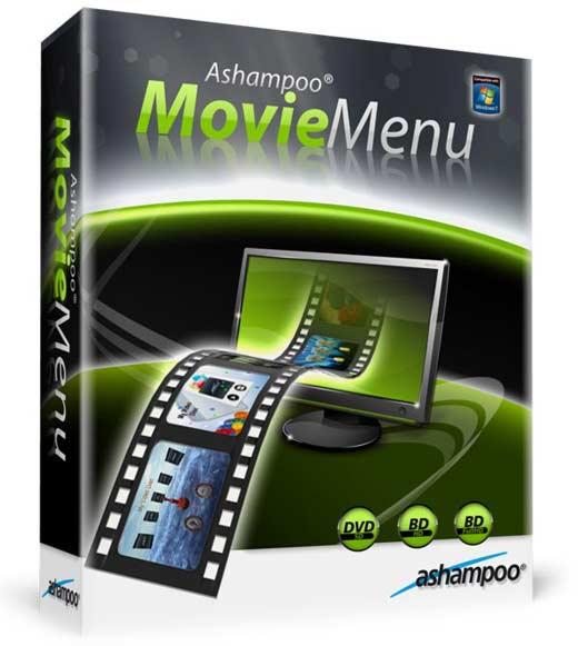 Ashampoo Movie Menu v1.0 (Beta) - Menus para películas