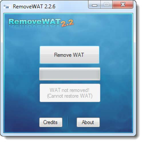RemoveWAT v2.2.6 - Activación segura windows 7