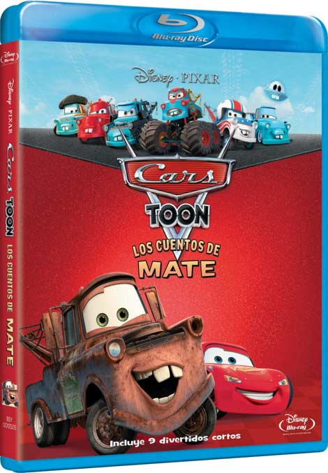 Car Toons: Disparates de Mate (Español Latino) (480p BrRip) (2010)