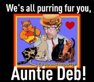 Purring for Auntie Deb