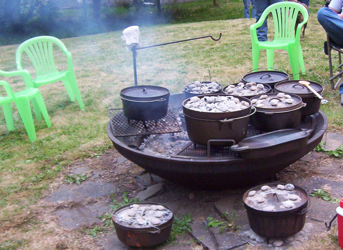 Camp fire cooking recipes for What to cook in a dutch oven camping