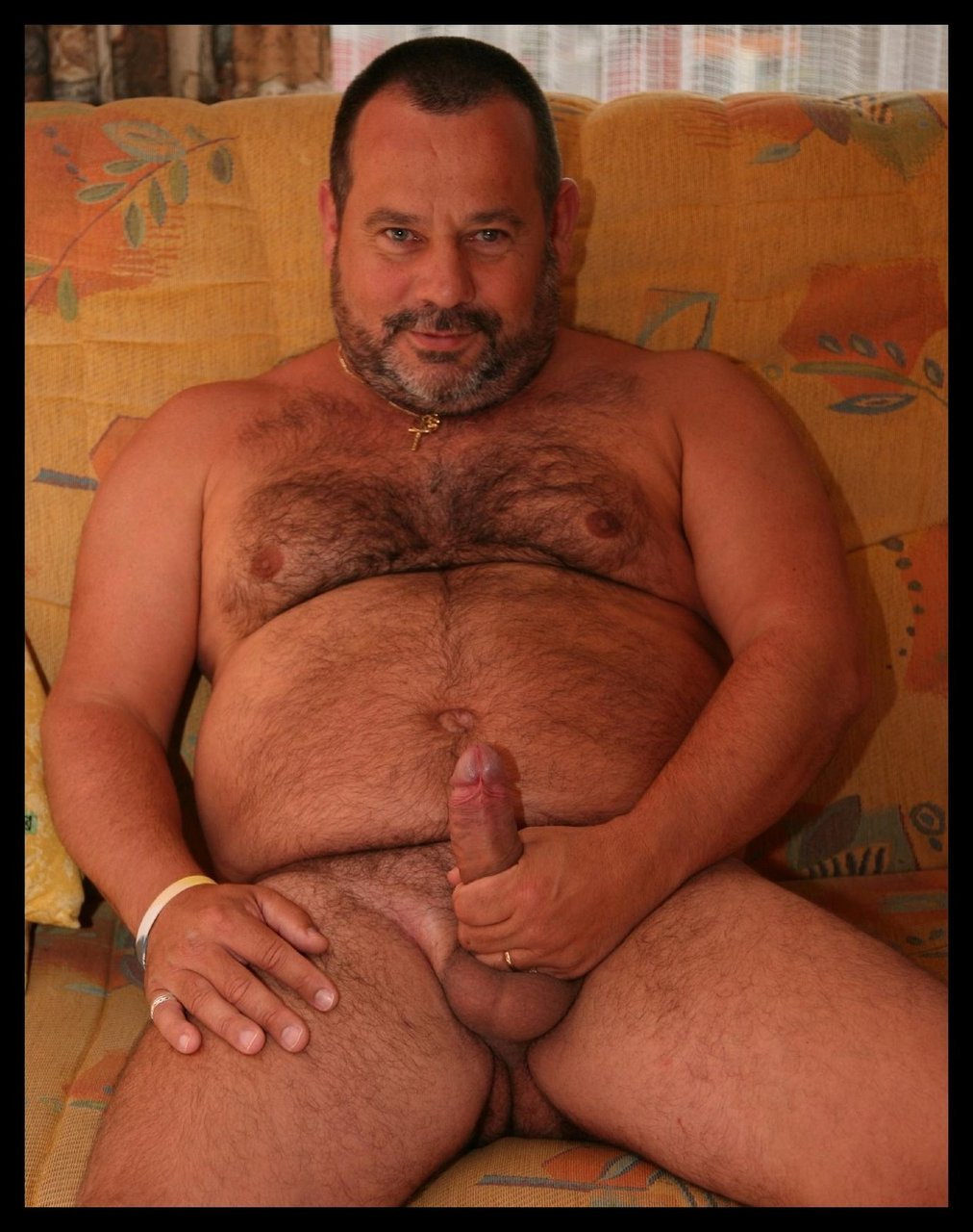 men naked bear Chubby