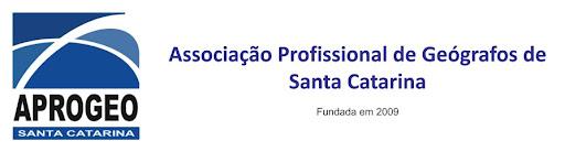 APROGEO/SC - Associação Profissional de Geógrafos de Santa Catarina