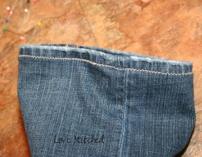 how to hem jeans tutorial love stitched. Black Bedroom Furniture Sets. Home Design Ideas
