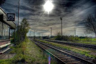 Railway Tracks Painting :: Top Wallpapers Download .blogspot.com