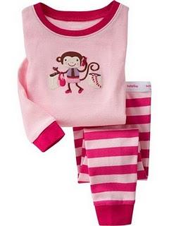 Gap Pyjamas (Pink Monkey)