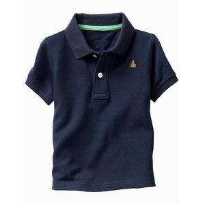 Gap Polo T-Shirt (Blue)