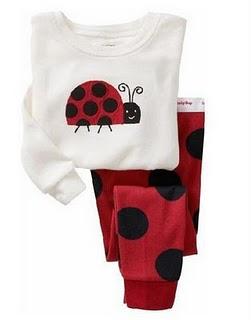 Gap Pyjamas (Lady Bug)