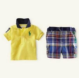 Polo Set (Yellow)