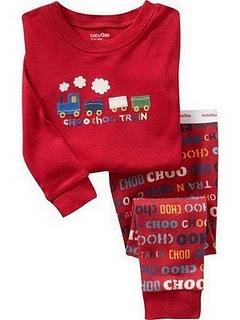 Gap Pyjamas (Choo Choo)