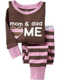 Gap Pyjamas (Mom & Dad)