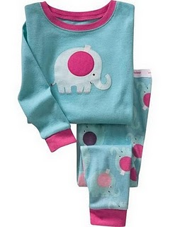 Gap Pyjamas (Pink Elephant)