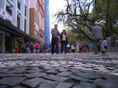 Rua dos Andradas, Rua da Praia, Bairro Centro, Centro Histórico, Porto Alegre, Rio Grande do Sul, Brasil