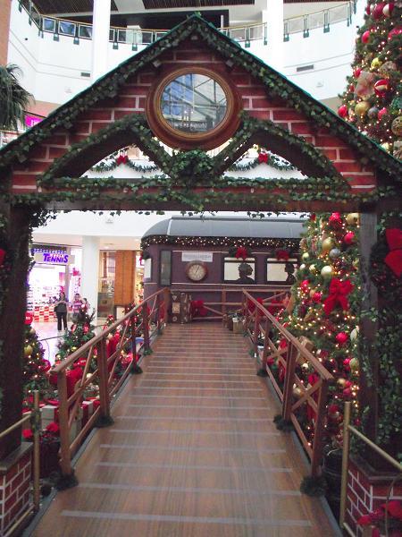 entrada do Expresso do Natal